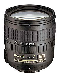 AF-S DX Zoom Nikkor 18-70mm f3.5-4.5G IF-ED launched