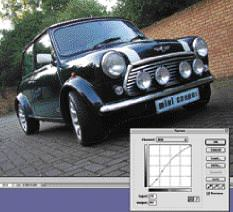 Using Photoshop to add motion blur for exciting car photography