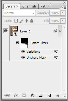 Photoshop CS3 Smart objects