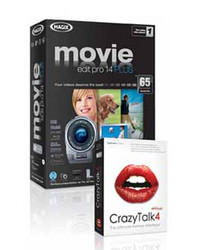 Movie Edit Pro 14 and Reallusion Crazy Talk 4