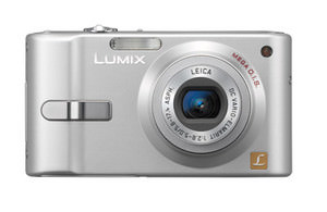 Panasonic Lumix DMC-FX10, FX12 - anti-blur compacts launched