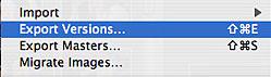Apple Aperture 1.1