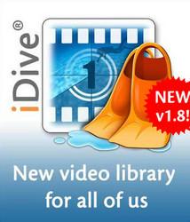 Aquafadas iDive Logo