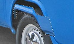 VW Camper wheel arch mod
