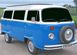 VW Camper tinted windows mod
