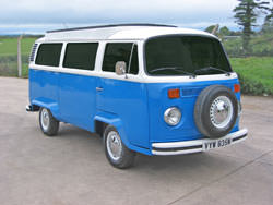 VW Camper widen tires mod