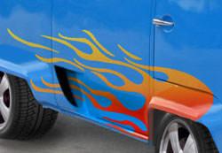 VW Camper adding decals