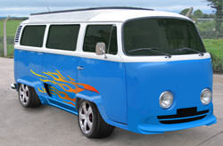 VW Camper bodywork modifications