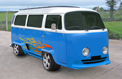 VW Camper body respray using Paint Shop Pro