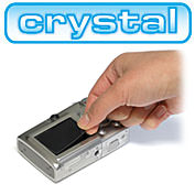 BoxWave ClearTouch anti-glare & crystal for compact digital cameras