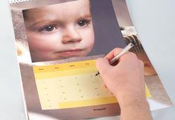 Cewe calendar inside shot