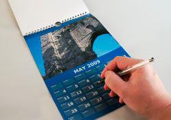 Inside a Yopoto calendar