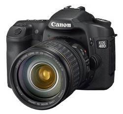 Canon EOS 40D side angle