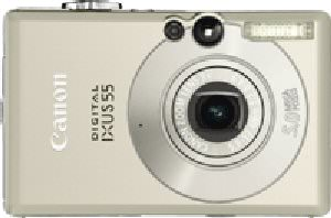 Canon Digital IXUS 55 introduced
