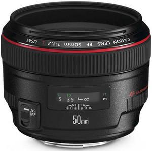 Canon EF 50mm f/1.2 L standard lens