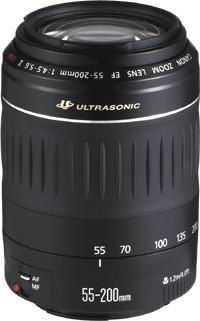 Canon EF 55-200mm f/4.5-5.6 11 USM