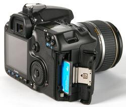 Canon EOS 40D card slot