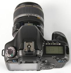 Canon EOS 40D top