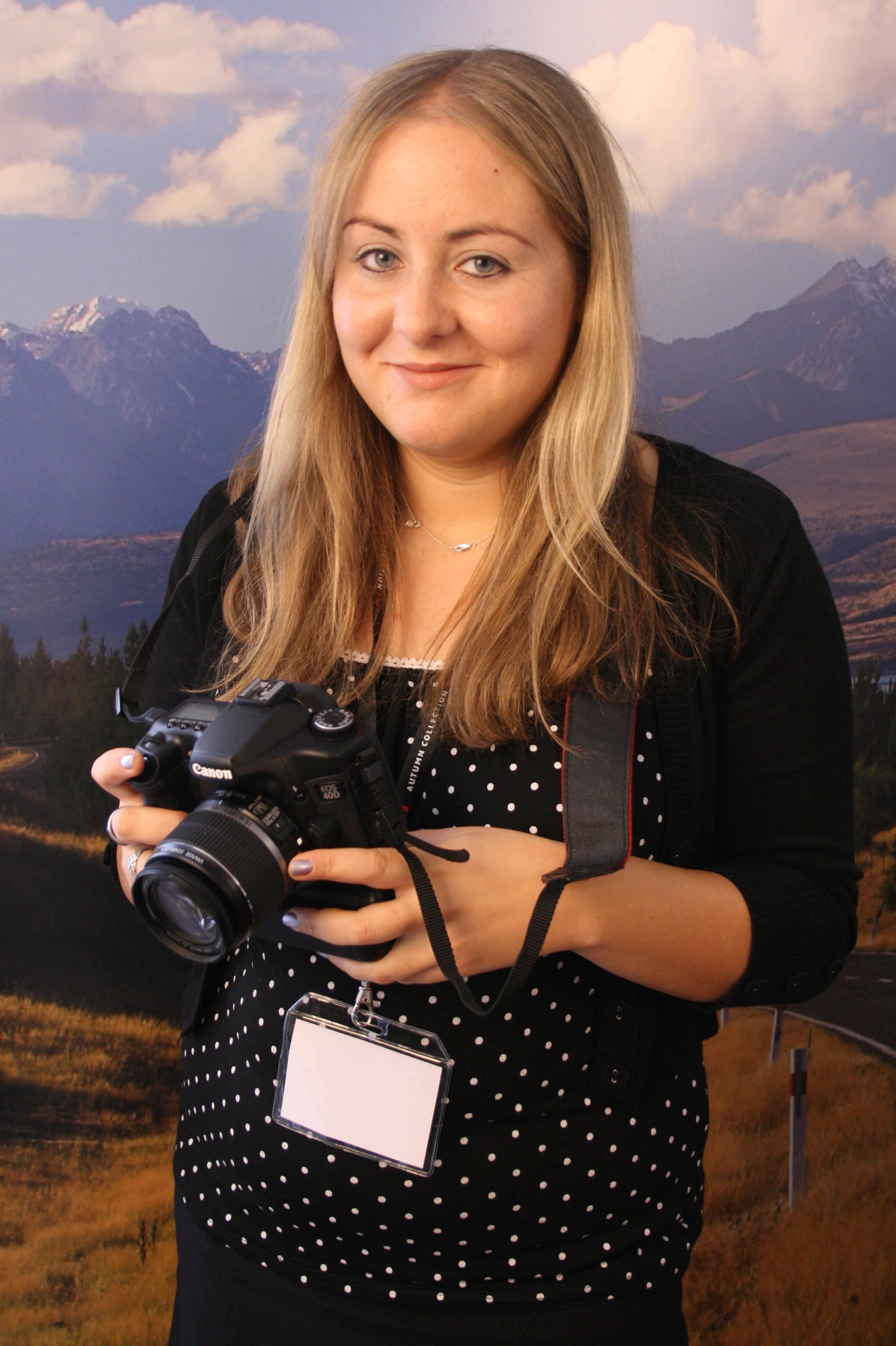 Canon EOS 40D and Rebecca
