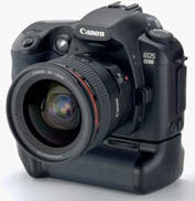 Canon EOS D30 Battery-Life