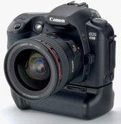 Canon EOS D30 Battery-Life