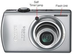 Canon IXUS 870 Front