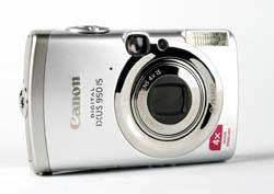 Canon IXUS 950 IS Angle