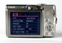 Canon IXUS 950 IS LCD panel