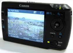 Canon Media Storage M80 rear view