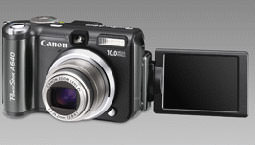 Canon PowerShot A640 and PowerShot A630