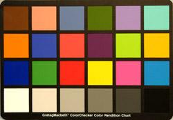 colour chart test