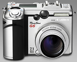 Canon PowerShot G6 announced