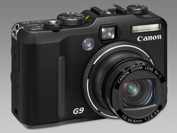 Canon PowerShot G9 front