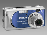 Canon Powershot A430 and Powershot A530