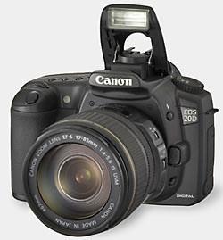 Canon announce the EOS 20D