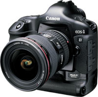 Canon introduce EOS-1Ds Mark II
