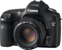 Canon offers 200 pounds cash back on EOS 5D