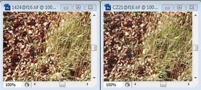 Nikon 14-24mm f/16 & Carl Zeiss 21mm f/16 Zone A resolution