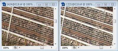 Nikon 14-24mm f/2.8 & Carl Zeiss 21mm f/2.8 Zone B resolution