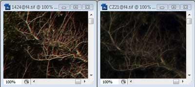 Nikon 14-24mm f/4 & Carl Zeiss 21mm f4 Zone C resolution