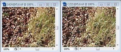 Nikon 14-24mm f/5.6 & Carl Zeiss 21mm f/5.6 Zone A resolution