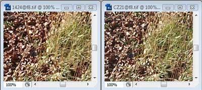 Nikon 14-24mm f/8 & Carl Zeiss 21mm f/8 Zone A resolution