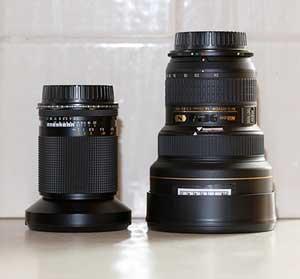 Nikon 14-24mm f/2.8 & Carl Zeiss  21mm f/2.8