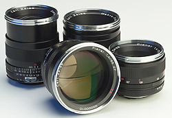Carl Zeiss ZF 50mm f/1.4 and 85mm f/1.4 Planar lenses to fit Nikon F mount