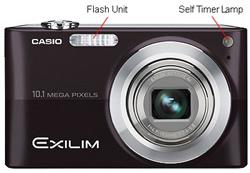 Casio Exilim EX-Z200 Front