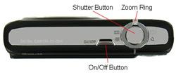 Casio Exilim EX-Z200 Top