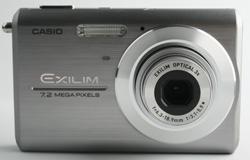 Casio Exilim EX-Z75 front view