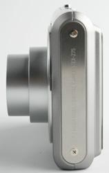 Casio Exilim EX-Z75 side view