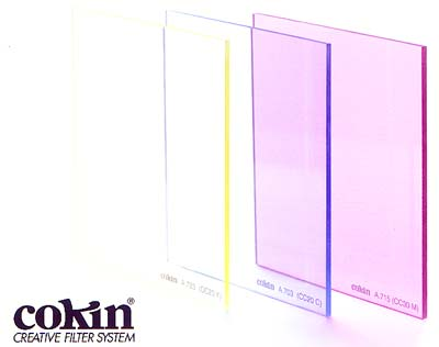 Cokin Colour compensating filters