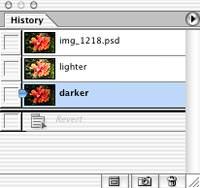 Combining 16-bit auto exposure bracketed images